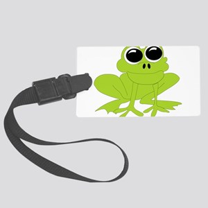 Frog-10-[Converted] Large Luggage Tag